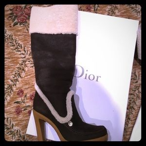 Authentic Christian Dior boots